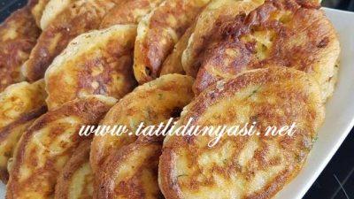 Patatesli Peynirli Hamur Kızartma