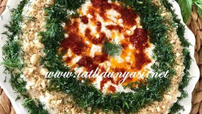 Yoğurtlu Yarma Salatası