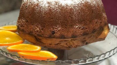 Portakallı Kek ( karbonatlı)