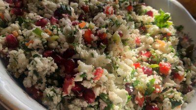Çiğ Karnabahar Salatası