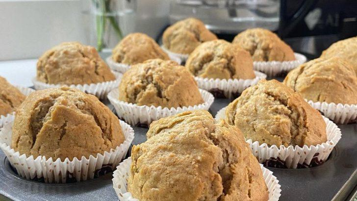 Havuçlu Cevizli Muffin